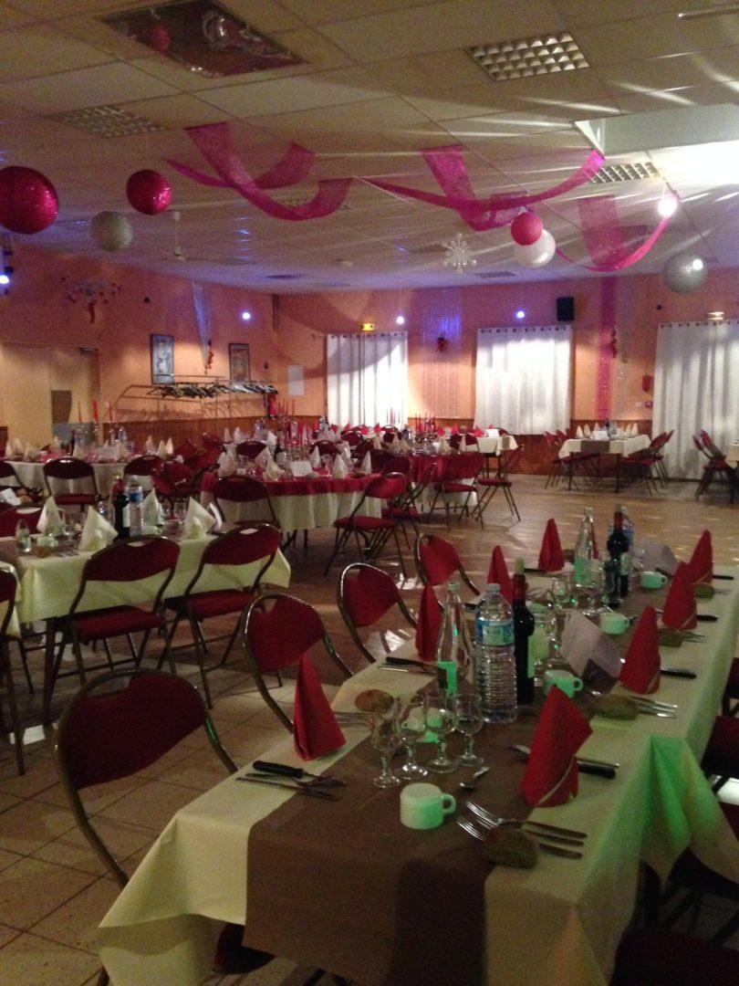 salle diner dansant st sylvestre la rose des vents - Restaurant