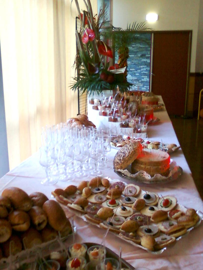 buffet cocktail rose des vents - Traiteur