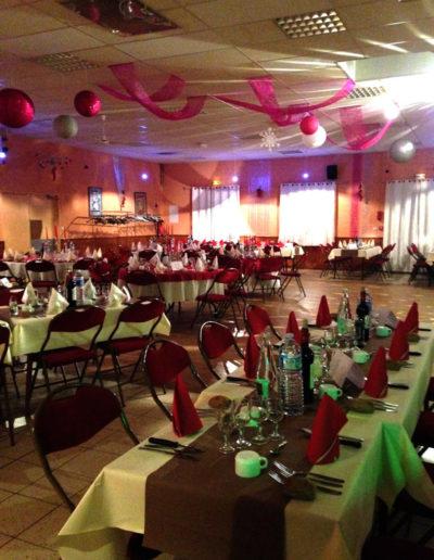 salle diner dansant st sylvestre la rose des vents - Traiteur